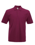 Heavy Poloshirt von Fruit of the Loom