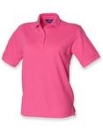 Damen Poloshirt Pique 65/35