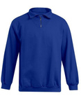 Sweatshirt Reißverschluss Troyer
