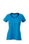 Leicht tailliertes Funktionelles Damen Lauf-und Fitnessshirt