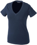 Damen-V-Neck-T-Shirt