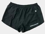 Damen Laufshort von James & Nicholson schwarz XL