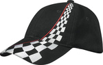 Hochwertiges 6 Panel Cap in attraktivem Racing-Design