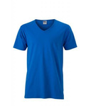 Herren Slim Fit V-Neck T-Shirt