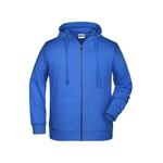 Sweat-Jacke-mit-Kapuze-und-Reißverschluss-JN8026